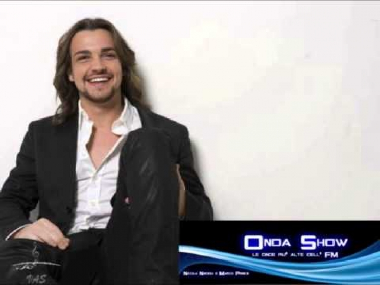 Valerio Scanu ospite a Onda Show Su Radio Mondragone Ce Venerdi ore 16.00